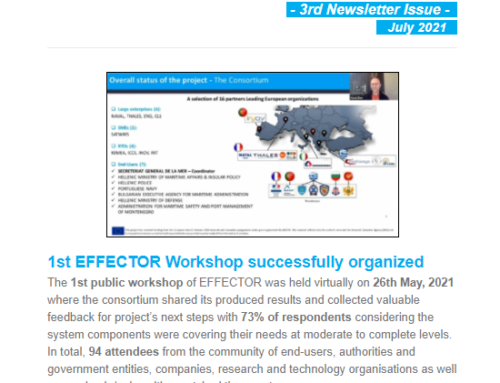 3rd EFFECTOR Newsletter issue published!